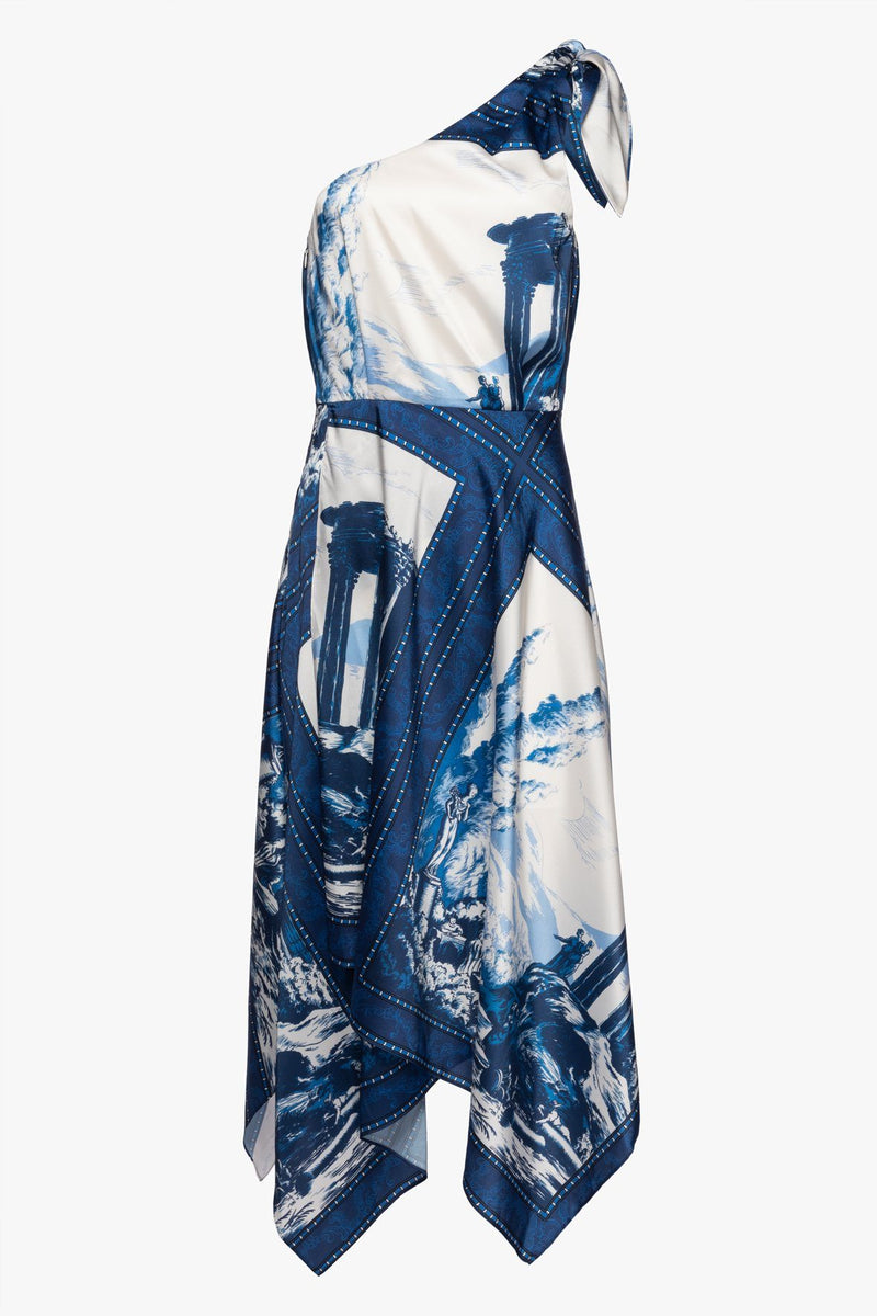 STAUD ABYSS DRESS | TAPESTRY TWILIGHT