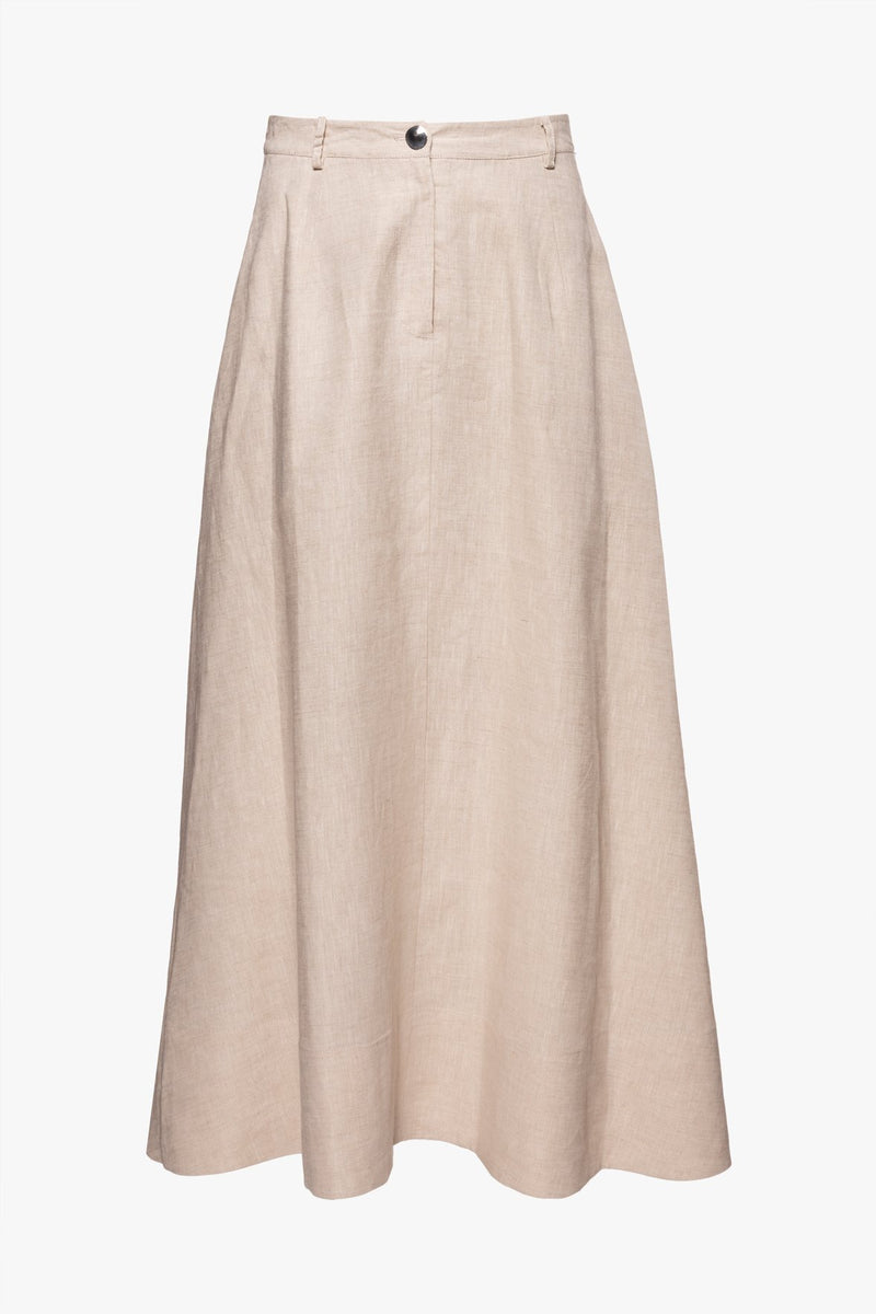 STAUD CYBELE SKIRT | NATURAL