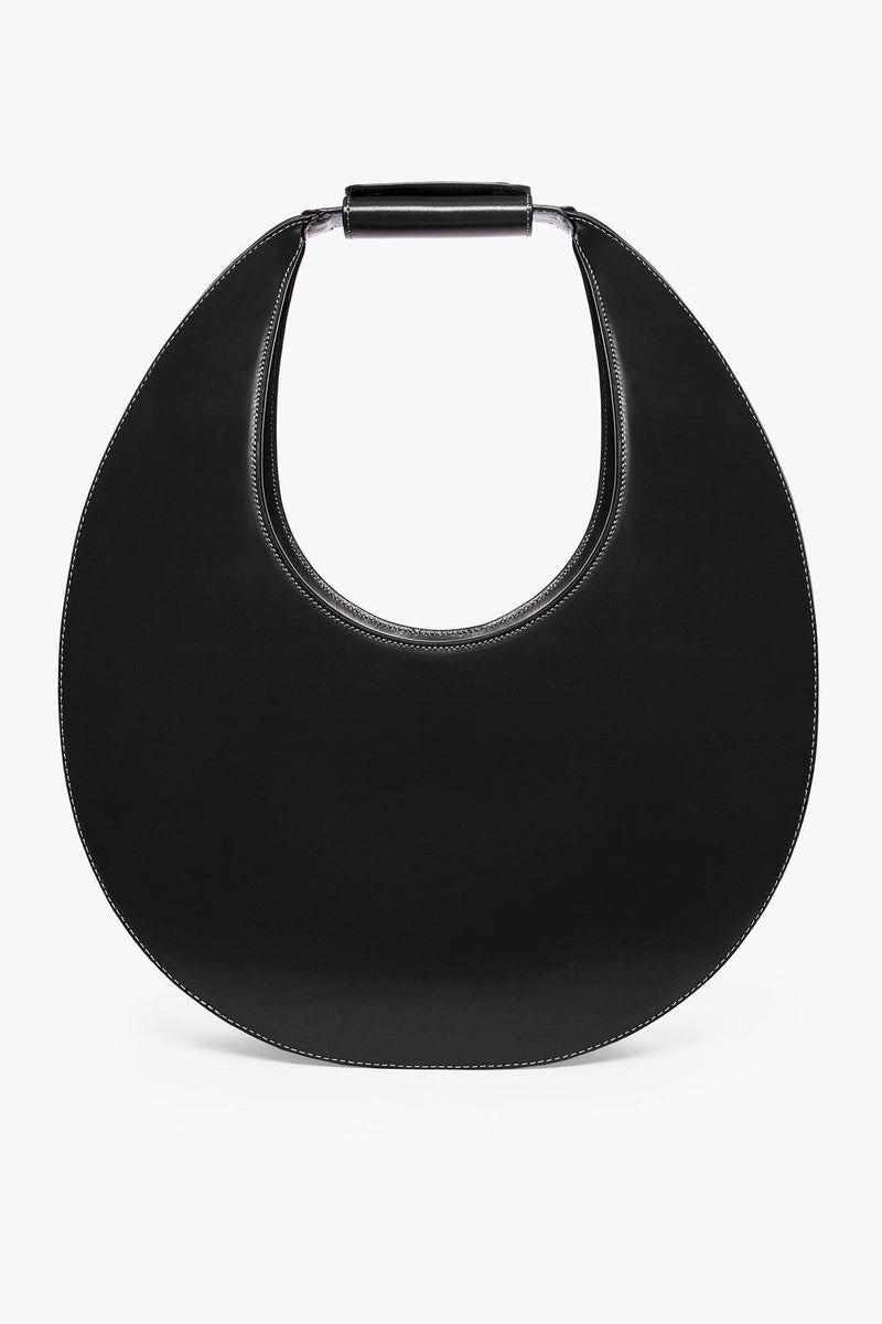 STAUD LARGE MOON BAG | BLACK