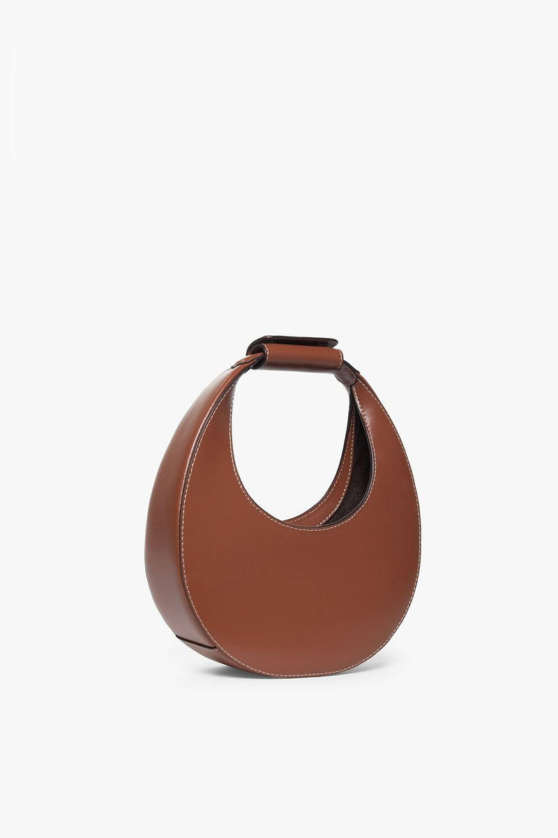 STAUD MINI MOON BAG | TAN