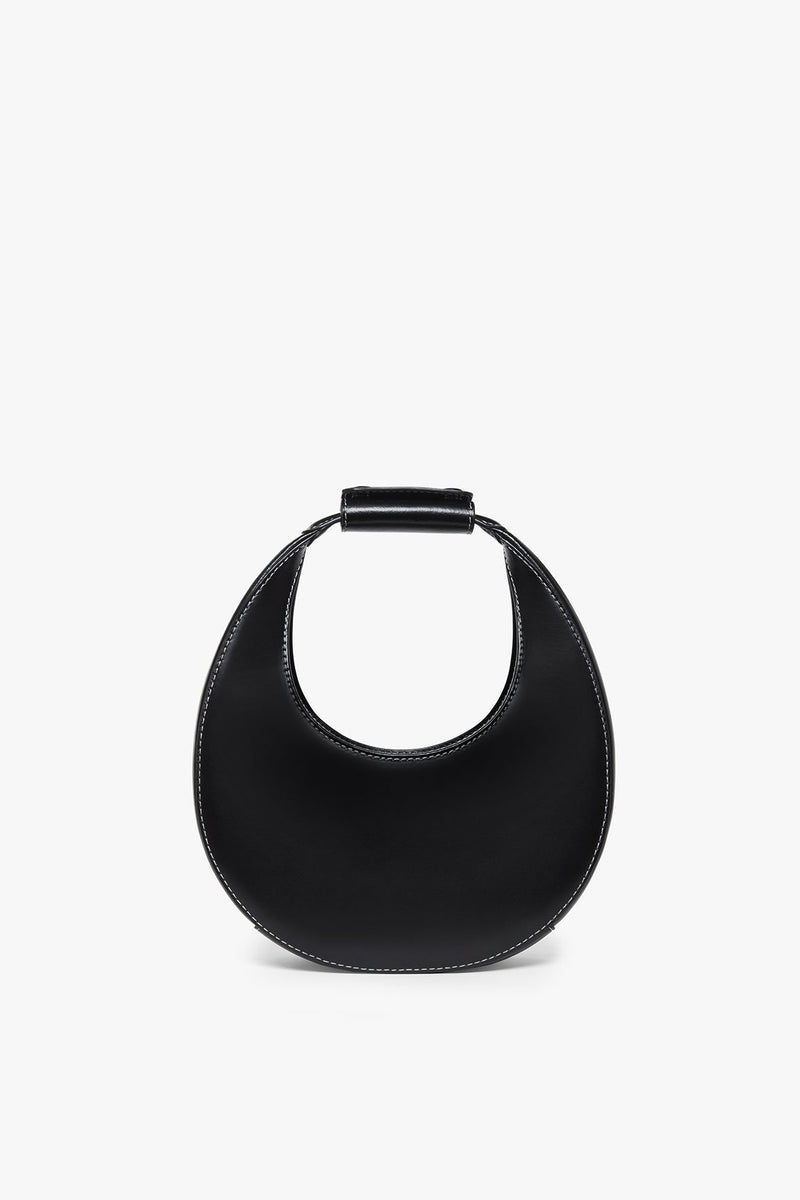 STAUD MINI MOON BAG | BLACK