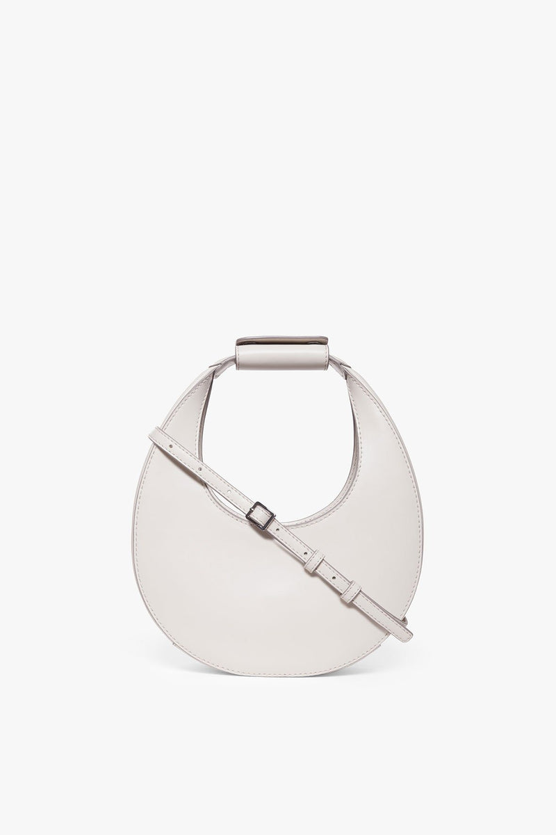 STAUD MINI MOON BAG | CREAM