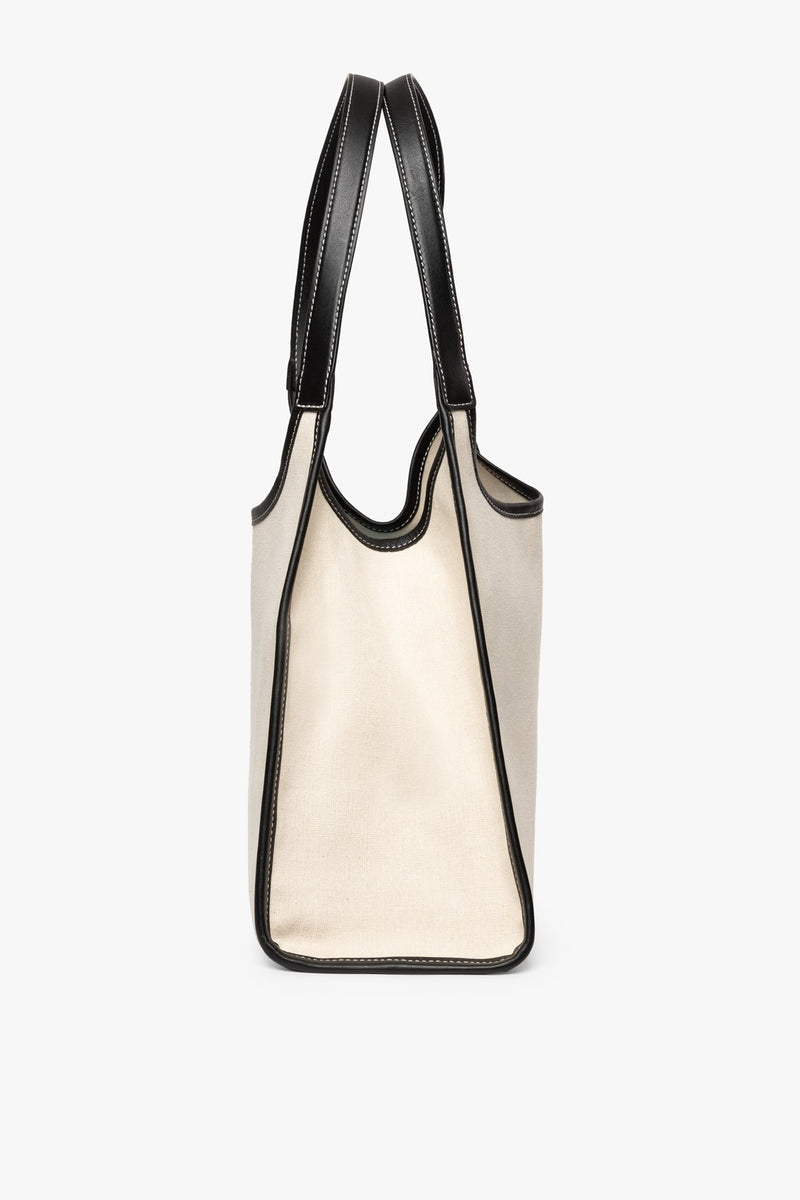 STAUD SOFT REY TOTE | BLACK