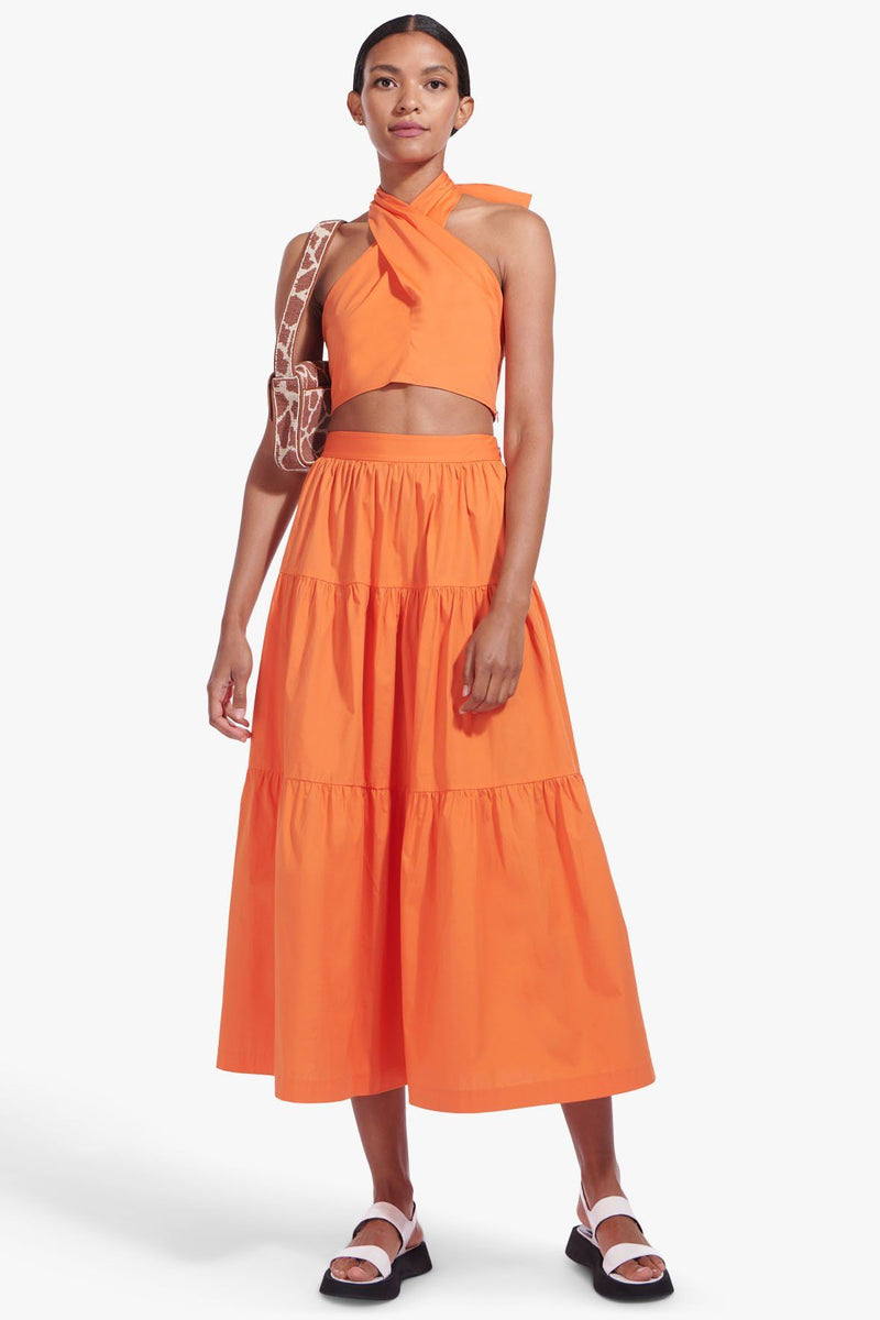 STAUD SEA SKIRT | NECTARINE