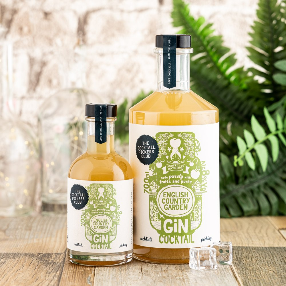English Country Garden Gin Cocktail Cocktail Bundle