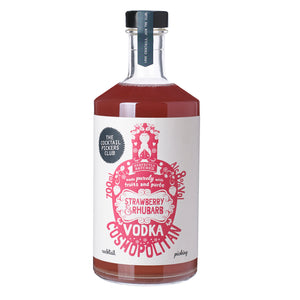 Limited Edition Strawberry and Rhubarb Vodka Cosmopolitan Cocktail Gift Pack 700ML