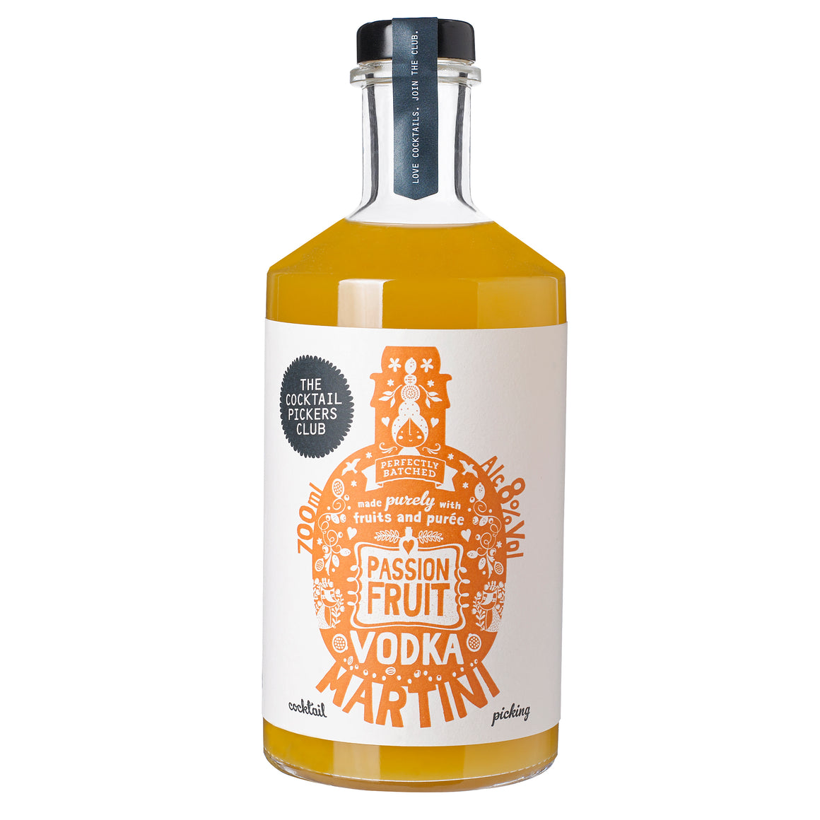 Passion Fruit Vodka Martini 3X 700ML