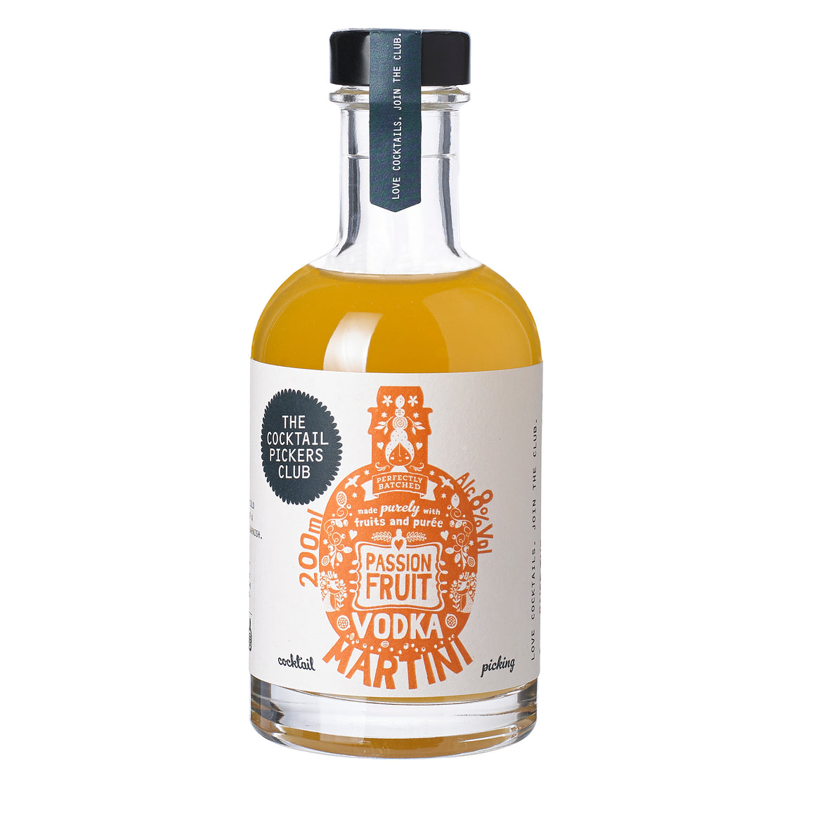 'Mini Pickers' Passion Fruit Vodka Martini 200ML