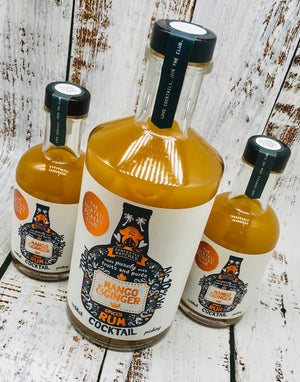 Mango and Ginger Spiced Rum Cocktail 700ML