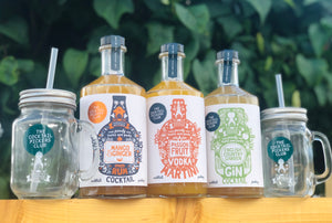 Summer Cocktail Jar Bundle 3 x 700ml FREE Delivery!