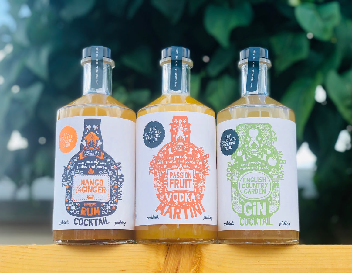 Summer Cocktail Bundle 3 x 700ml FREE Delivery!