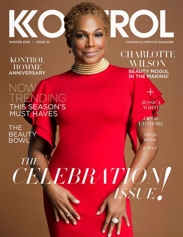 Glow Skin Enhancement CEO Charlotte Wilson on Cover of Kontrol Magazine