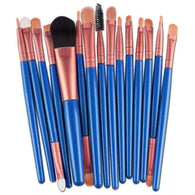 15 pcs Makeup Brush Set tools Make-up Toiletry Kit Wool Make Up Brush Set