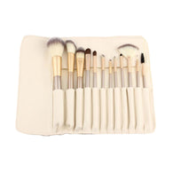 12 PCS Makeup Brush Set Blending Blush Eyeliner Face Powder Brush