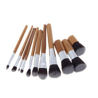 11 PCS Makeup Brush Set Blending Blush Eyeliner Face Powder Brush