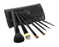 7 Pieces Fashion Makeup Brushes Sets/Useful Makeup Brushes, 5# Black