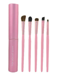 5 Pieces Fashion Eyes Brushes Sets/Useful Eye Makeup Brushes, Pink