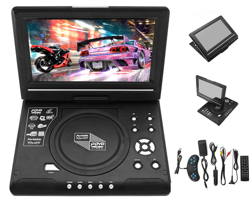 "9.8"" Portable 'Rotating' DVD Player"