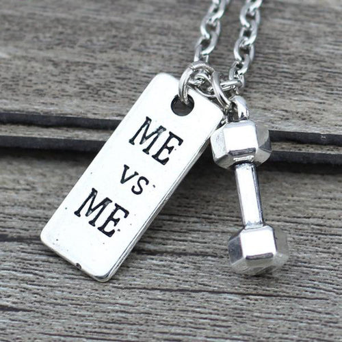 Motivational Sports Pendant Necklaces