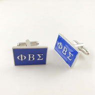 Sigma-fied Custom Greek-Lettered Cufflinks