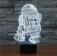 3D Star Wars® LED Lamps