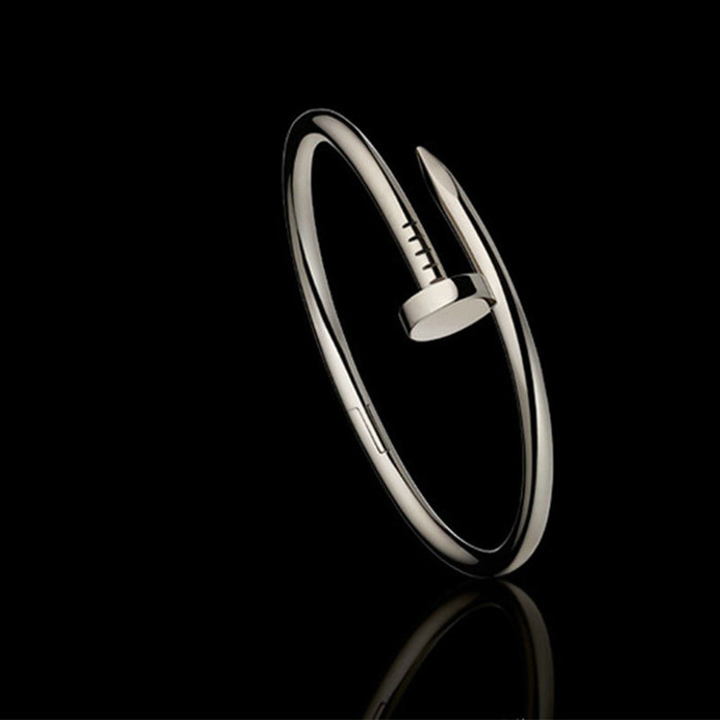 'Lovers' Titanium Bangle Bracelets