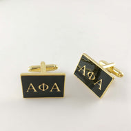 APhiA Custom Greek-Lettered Cufflinks