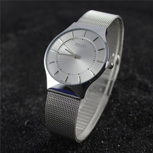 Ultra-Thin Stainless Steel Luxury Time Pieces