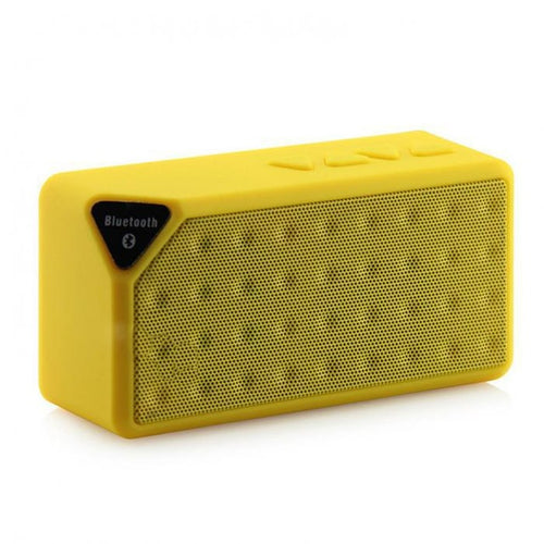Mini Bluetooth® X3 Portable Wireless Speaker