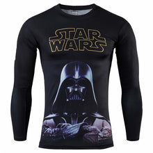 Star Wars® LONG-Sleeve 3D Fitness T-Shirts