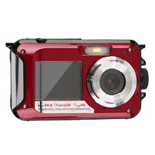 Waterproof Double LCD Screen Digital Camera