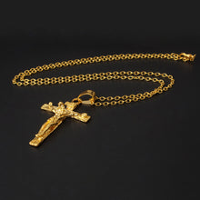 Jesus Christ Crucifix Pendant Necklaces