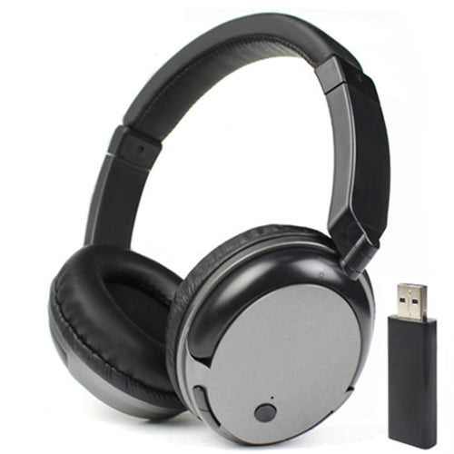 Hybrid-Technology Rechargeable Wireless Headphones
