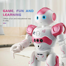 'Intelligent' Remote-Controlled Humanoid Robot