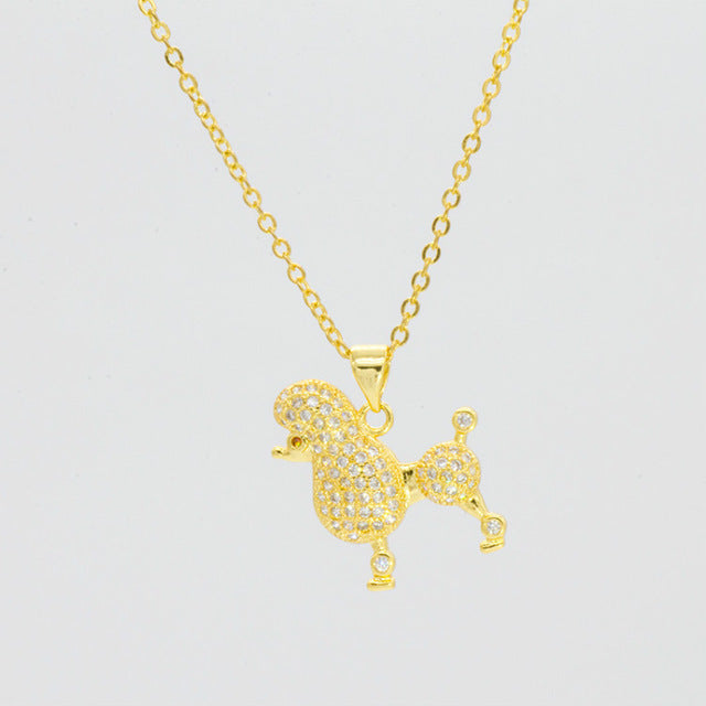 'Poodle Power' Necklace and Pendant