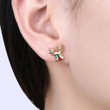 Rudolph Crystal Stud Earrings