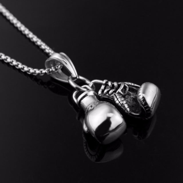 'Two Fists' Boxing Glove Pendant Necklaces