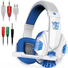 Hybrid-Tech Surround Sound Gamer Headphones