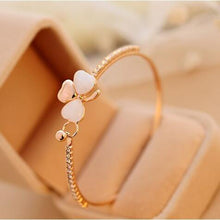 "Cute ""Heart-Themed"" Bangle Bracelets"