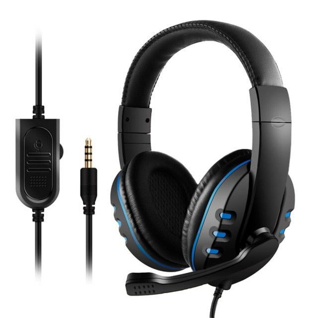 Noise-Cancelling Wired Gaming Headset
