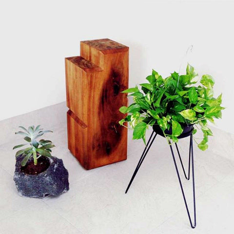 Plant Stands - Colorful small plant stand for indoor garden