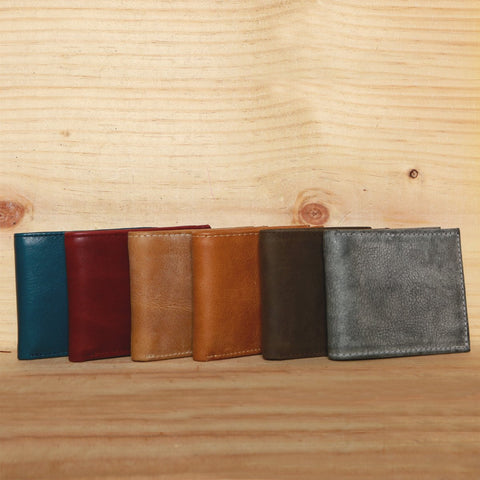 Mexican Genuine Basic Leather Wallet
