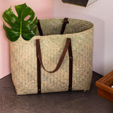 Handwoven Wickerwork Beach Bag