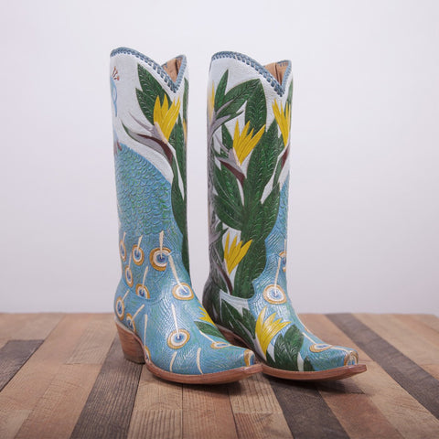 Handmade cowboy boots for women