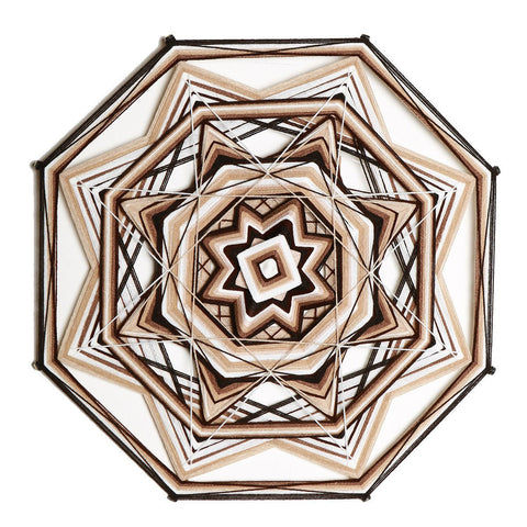 Mandala Charm - Earth