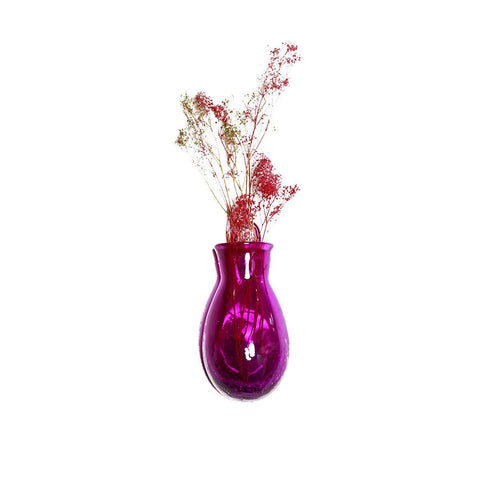 Colored Glass Wall Vase