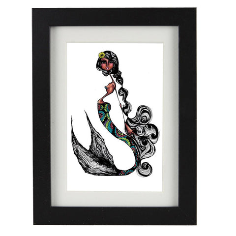 Mixed Technique Mexican Illustrations - Cordell Frame
