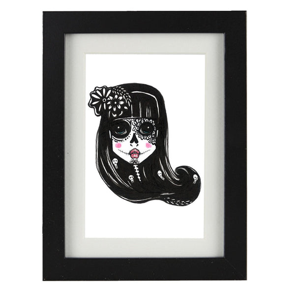 Mixed Technique Mexican Illustrations - Eissa Frame