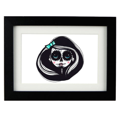 Mixed Technique Mexican Illustrations - Kalia Frame