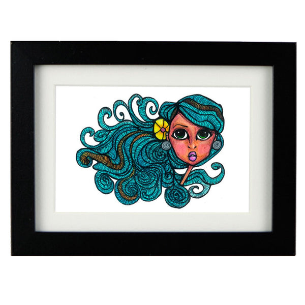 Mixed Technique Mexican Illustrations - Mila Frame